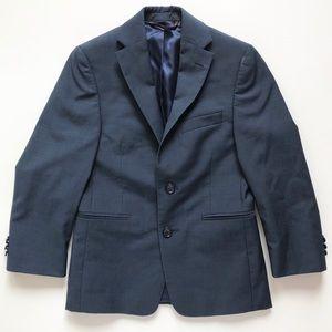Michael Kors boys navy blue blazer coat sz 8R